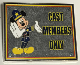 Mickey Mouse   Cast Exclusive Keystone Cop Authentic Disney pin - $35.00
