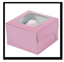 Light Pink Cupcake Boxes (G7) - $5.70