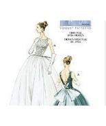Vogue 8729 New Retro Pattern Size 6 to 12 Original 56 Design Wedding Dre... - $9.95