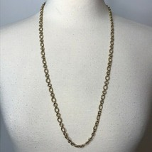 """Goldtone Twisted Chain Necklace Approximately 30"""" - $21.78"""