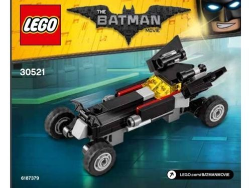 LEGO The Mini Batmobile Polybag 30521 [New] Building Toy