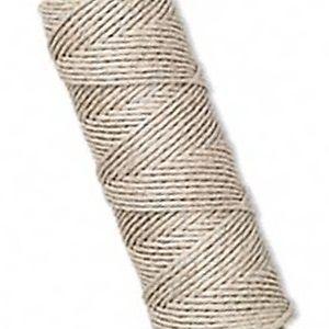 1mm Natural WHITE HEMP CORD 205 ft Cording~Twine~Crafts