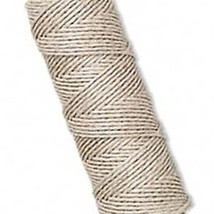 1mm Natural WHITE HEMP CORD 205 ft Cording~Twine~Crafts image 1