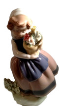 Retired Lladro Porcelain Lady Figurine   Spring Is Here   Jose Puche  - $129.99