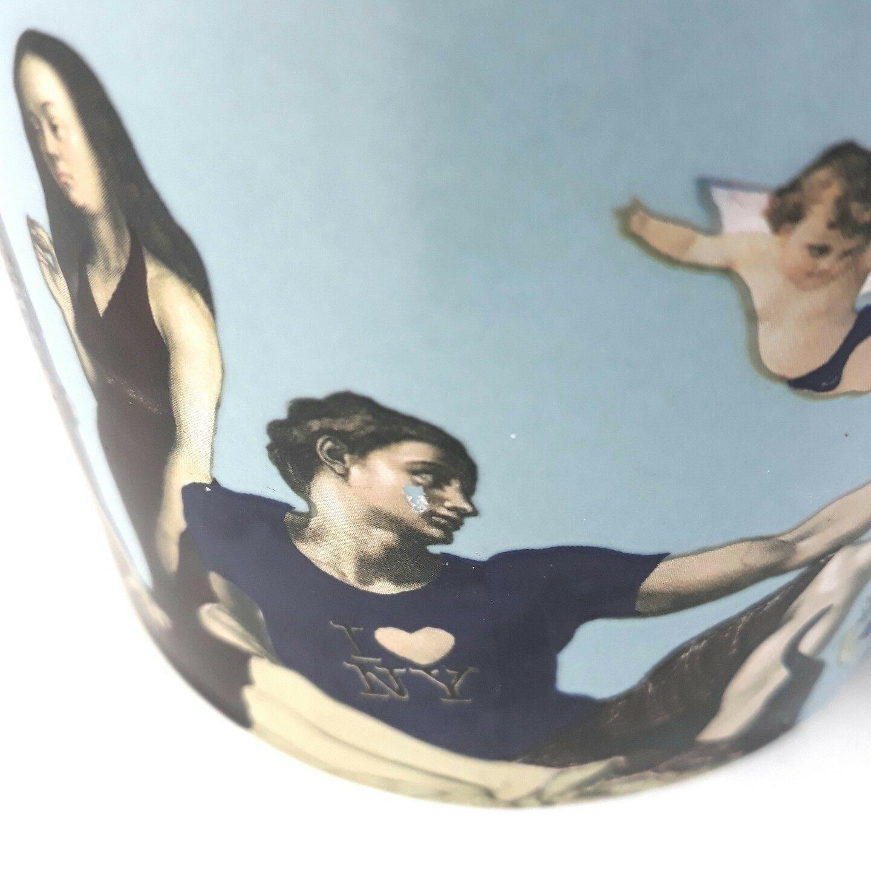 Great Nudes Naughty Mug Heat Reveal Image The Unemployed Philosophers Guild Blue