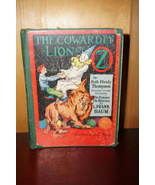 The Cowardly Lion of Oz Book, 1923 edition by Ruth Plumly Thompson - $84.08