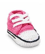 Baby Girls Sneaker Bootie  Size 0-4 Months - $15.00