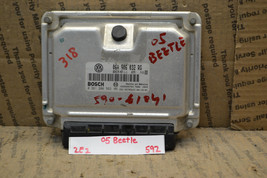 2005 Volkswagen Beetle Engine Control Unit ECU 06A906032RG Module 592-2e2 - $84.99