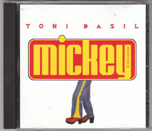 Primary image for TONI BASIL-Mickey remixes maxi single CD