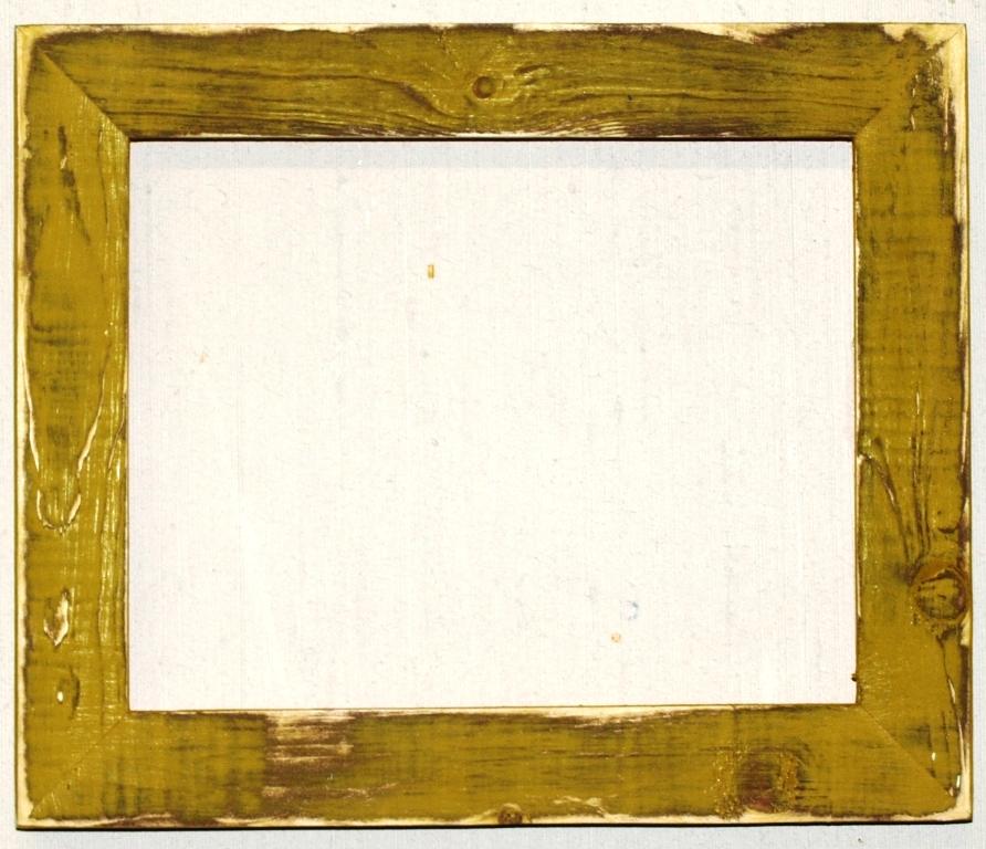 f001 14 20 x 24 1 1 2 pale gold distressed picture frame frames supplies. Black Bedroom Furniture Sets. Home Design Ideas