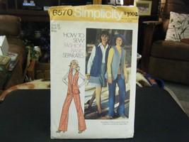 Simplicity 6570 Misses Vest, Skirt & Pants Pattern - Size 16 Bust 38 - $7.34