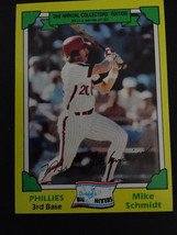 1982 Topps Drake's Big Hitters Mike Schmidt Philadelphia Phillies #29 of 33 Card - $1.50