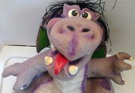 Professional full body Dragon puppet ventriloquist artist signed monster... - $89.99