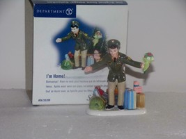 "Department 56 Snow Village ""I'M HOME"" #55209/ RETIRED-NEW IN BOX - $15.35"