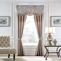 "New CROSCILL Estate ALEXANDRIA Set Of 2 Size: 82x84"" DRAPES W/Tiebacks F... - $89.00"