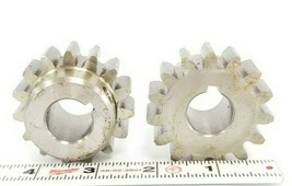 "LOT OF 2 NEW GENERIC AAA2-6A5 GEARS 3100, DMOP 5001, 3/4"" 0.75 IN. BORE, AAA26A5"