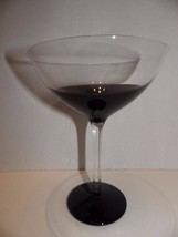 Martini Glass Black Elemental by Pier 1 - $19.80