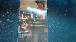 Texas Ranger, Runaway Heiress 927 by Carol Finch (2009, Paperback) image 1