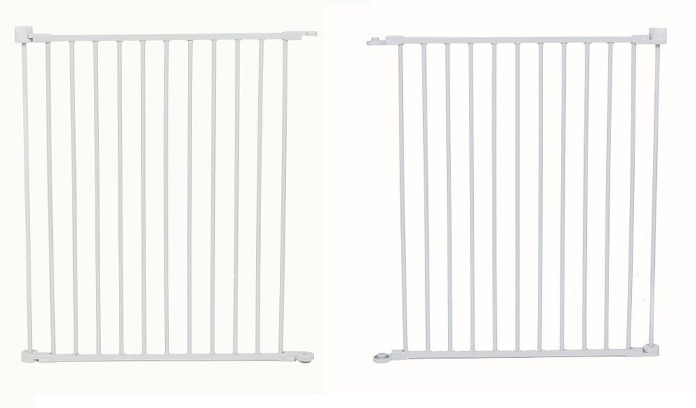 "Carlson 2 Pack 48"" Extension For  SuperGate/Pet Yard 0028 For 2200PY White"