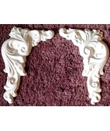 Mold, Molds, Left and Right Acanthus Corners Plaster Mold, Concrete Mold - $14.99