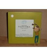 Light Green Golf mini wooden frame cross stitch... - $5.00