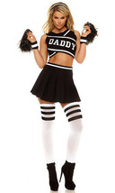 Forplay Daddy Cheerleader Dancer Sexy Adult Womens Halloween Costume 556411 - $83.69