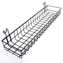 Multipurpose Wall Mount Mesh Metal Wire Basket Grid Panel Hanging Tray O... - $45.39