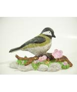 Chickadee Black Capped Figurine Nature's Song RUSS Porcelain Bird Figure... - $10.84
