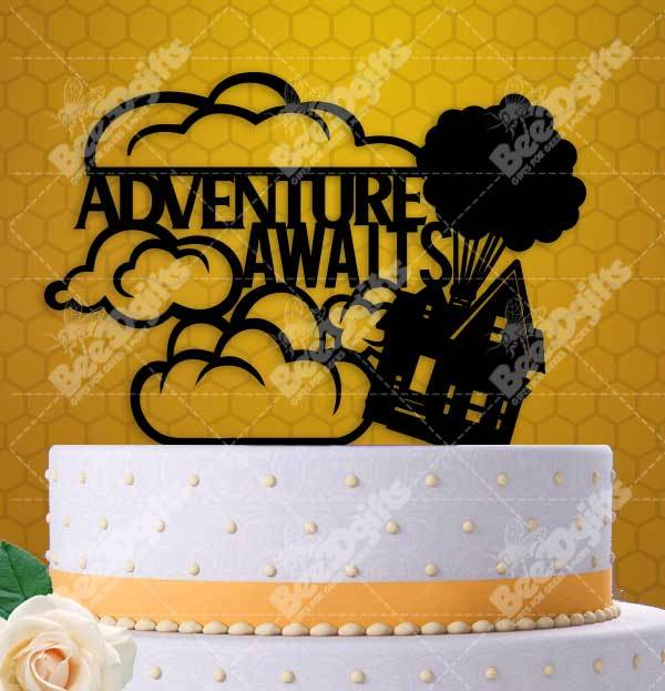 Adventure Awaits Up House Balloons Cake and 50 similar items
