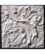 Mold, Plaster Mold Acanthus Leaves Tile Plaster Mold, Concrete Mold, Molds - $14.99