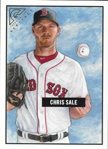 2017 Topps Gallery Heritage #H-12 Chris Sale NM-MT Boston Red Sox - $3.99
