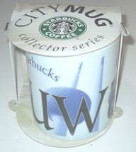 Starbucks City Mug KUWAIT 2002 Collector Series 16oz NEW IN BOX NOS NEW  - $25.74