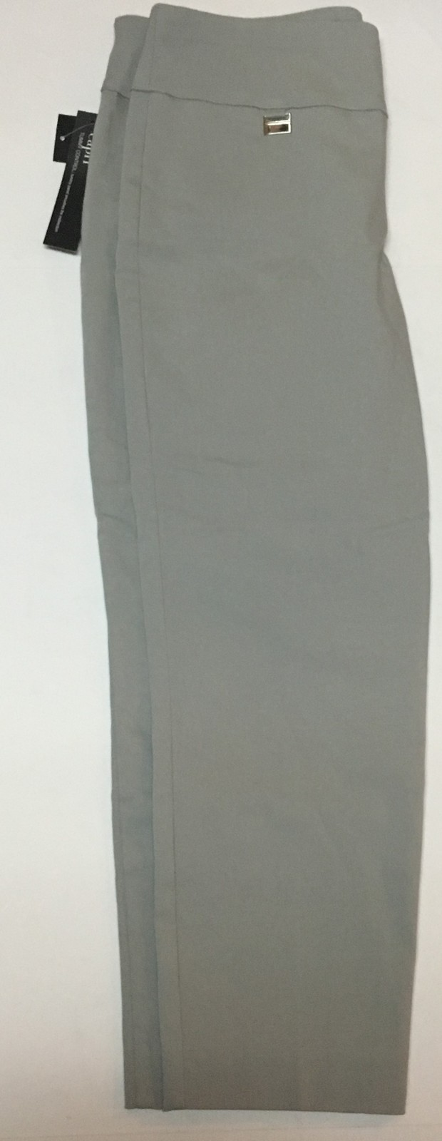 Alfani Ash Gray Capri Sz 6 Stretch