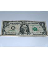 2009 Bill US Banca Nota Basso Numeri Set Di 0s 00010731 Decorato Soldi S... - $14.09