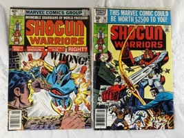 Shogun Warriors Comic Books #17 #20 1980 Marvel  - $10.00