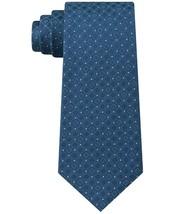 Kenneth Cole Reaction Men's Connect Square Slim Silk Tie Blue - $9.95