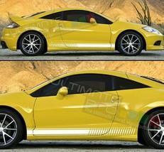 Decal Sticker Graphic Stripe turbo For Mitsubishi Eclipse Chrome Tail Li... - $37.99