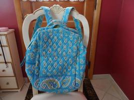 Vera Bradley large backpack in Bermuda Blue  pattern - $55.50