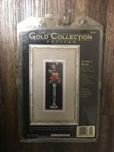 Dimensions Gold Collection Petites Lovely Rose Counted Cross Stitch Kit #6741 - $14.99