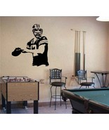 Large Aaron Rodgers Green Bay Packers Football Vinyl Wall Sticker Decal - $34.99