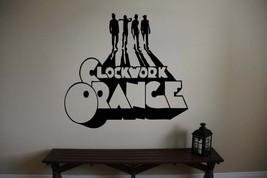 Large Clockwork Orange Movie Vinyl Wall Sticker Decal - $24.99