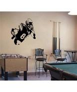 Large Hines Ward Pittsburgh Steelers Football Vinyl Wall Sticker - $34.99