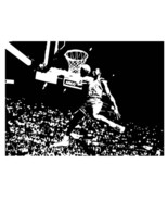 Large Michael Jordan Chicago Bulls Basketball Dunk Vinyl Wall Sticker Decal - $34.99