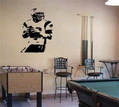 Large Tom Brady Patriots Football Vinyl Wall Sticker - $34.99