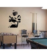 Large Tom Brady Patriots Football Vinyl Wall Sticker - $34.99