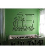 Nursery Kids Train Vinyl Wall Sticker Decal - $24.99