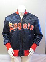 California Angels Jacket (VTG) - Satin Jacket by Cosby - Men's Size 46 - $249.00