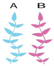 Simple Plant 3 ft Room Design Vinyl Wall Sticker Decal - $7.99