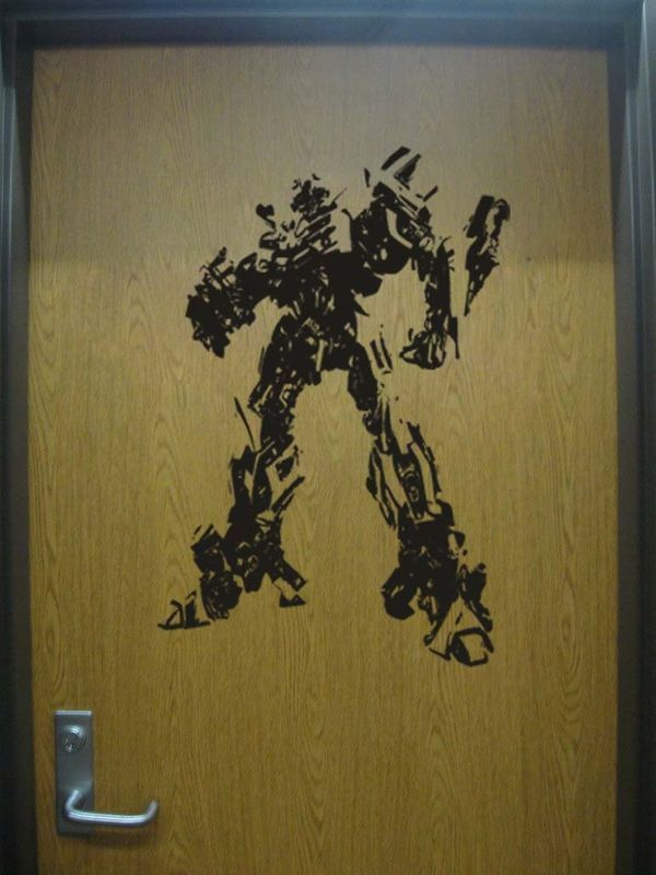 Primary image for Transformers Bumblebee Vinyl Wall Sticker Decal