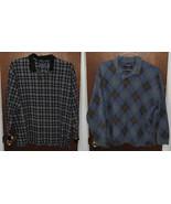 2 Roundtree & Yorke Long Sleeve Golf Polo Shirts Size XL - $19.99